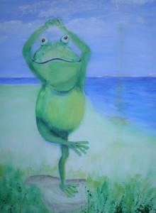 Frosch-Yoga
