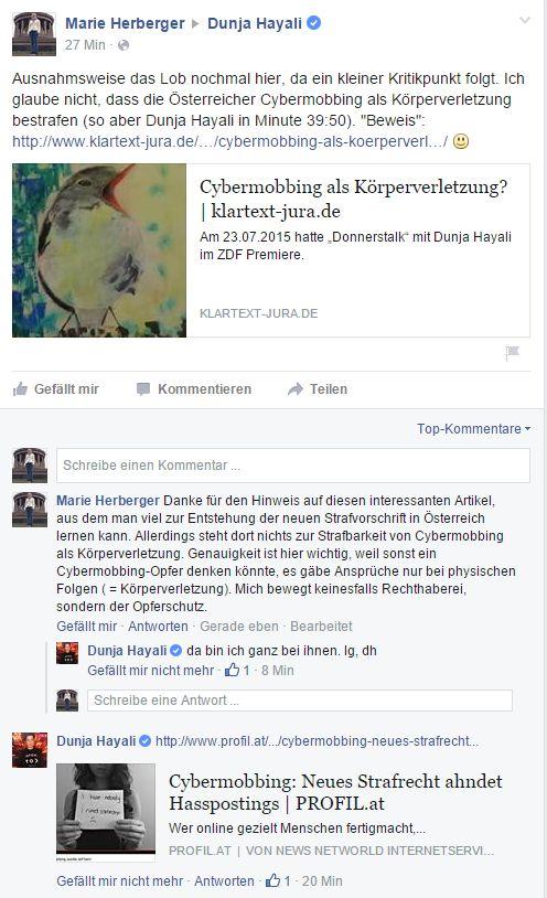 Dunja Hayali - FB