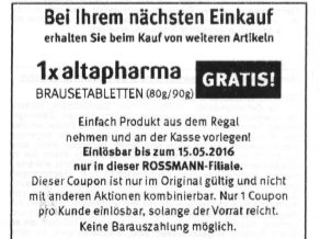 Rossmann-Coupon