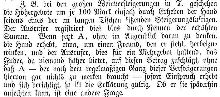 Isay, Die Willenserklärung im Thatbestande des Rechtsgeschäfts nach dem Bürgerl Gesetzbuch f d Deutsche Reich